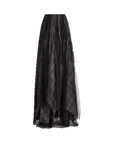 Arlington Organza-Tulle Skirt