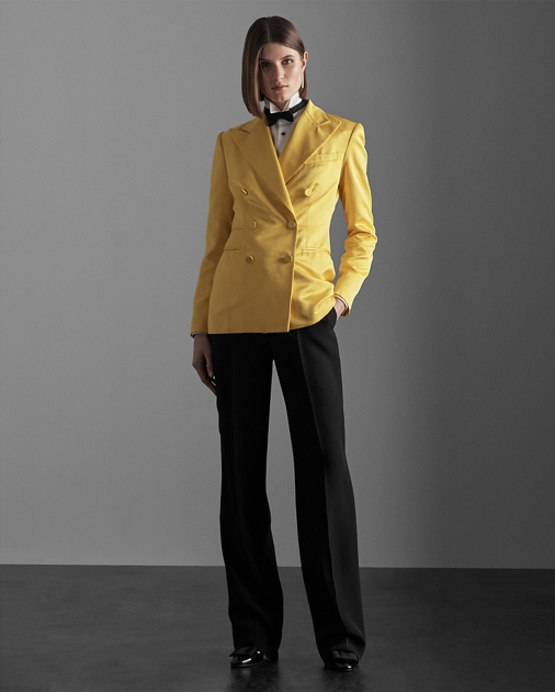 Collection Apparel Winnifred Marocain Tuxedo Trouser 1
