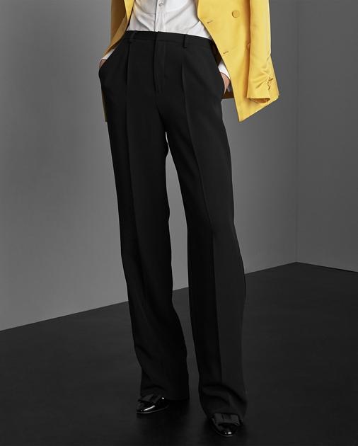 Collection Apparel Winnifred Marocain Tuxedo Trouser 3