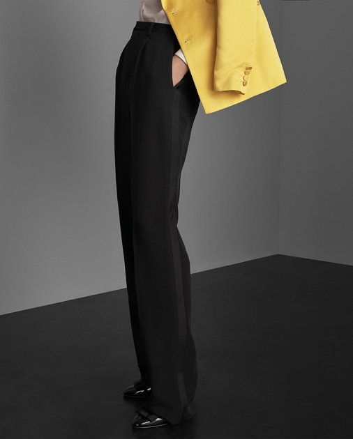 Collection Apparel Winnifred Marocain Tuxedo Trouser 4