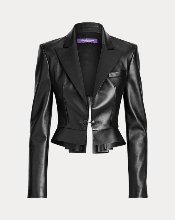 Zadie Lambskin Jacket