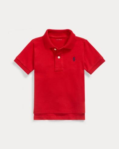 Cotton Interlock Polo Shirt