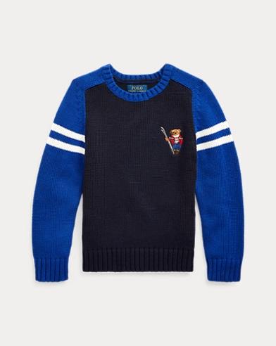 Ski Bear Cotton Sweater