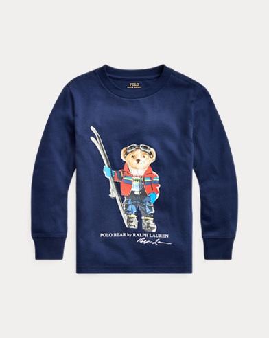 Ski Bear Cotton Jersey Tee