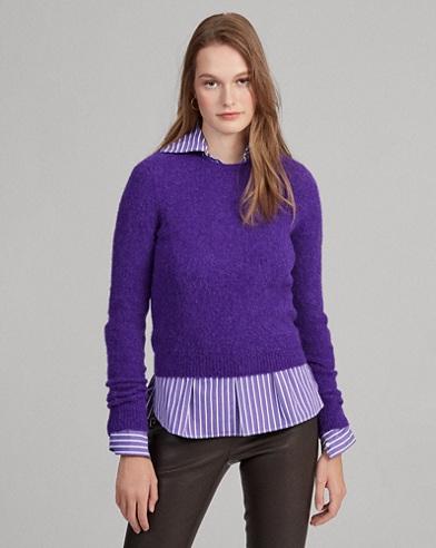 Wool Long-Sleeve Sweater