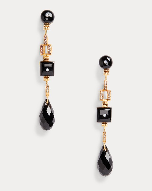 Art Deco Bar Earrings