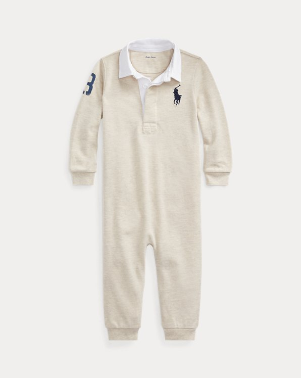 Cotton Graphic Rugby Coverall