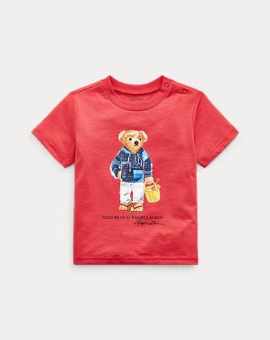 Maglietta in cotone Beach Bear