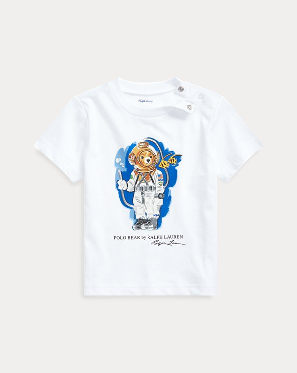 T-shirt Diving Bear en jersey