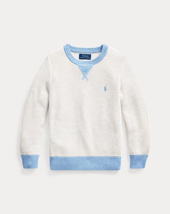 Textured Cotton Jumper