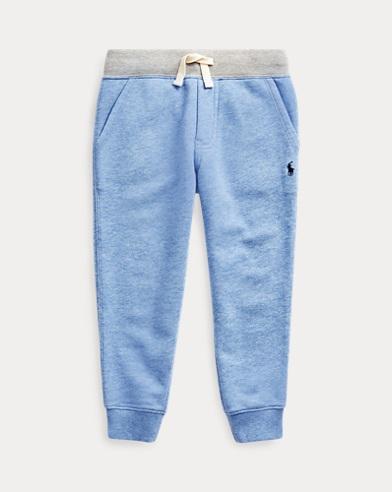 Pantaloni da jogging in spugna di twill