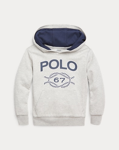 Double-Knit Graphic Hoodie