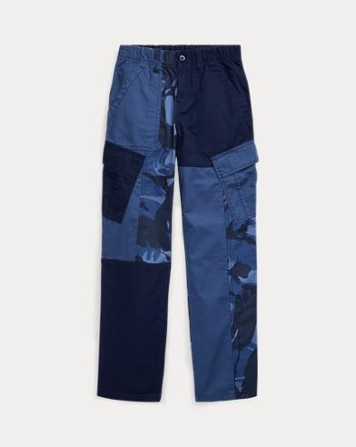 Patchwork Camo Cargo Trouser
