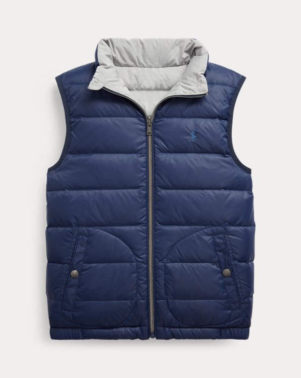 Reversible Quilted Down Gilet
