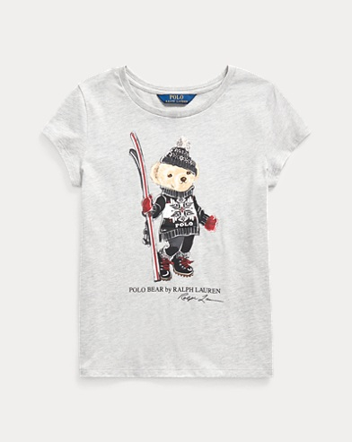 Ski Bear Cotton Jersey Tee