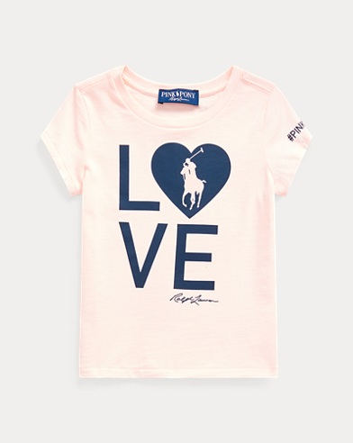 5068257fe0 Girls' Tops, Tees, & T-shirts in Sizes 2-16 | Ralph Lauren