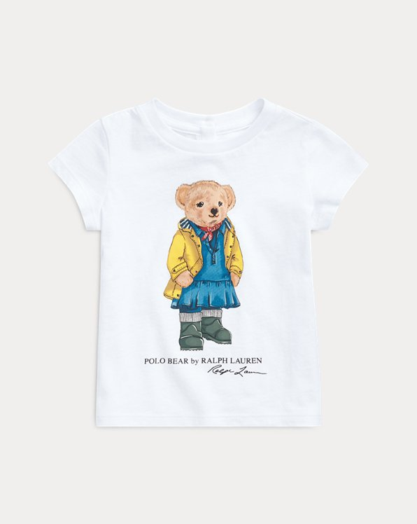 T-shirt ourson en imper en jersey