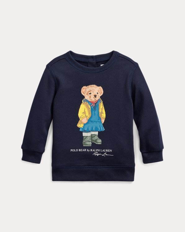 Raincoat Bear Terry Sweatshirt