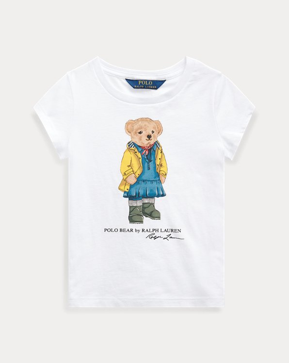 Raincoat Bear Cotton Tee