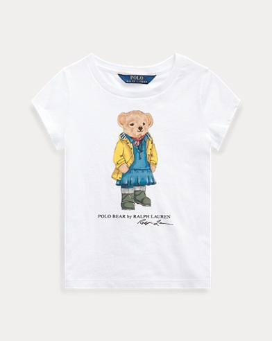 Raincoat Bear Cotton Tee