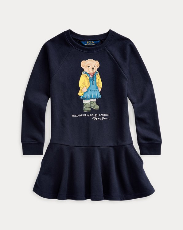 Raincoat Bear Terry Dress
