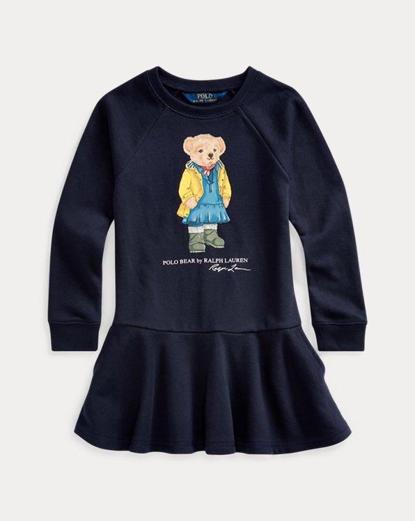 Terry-Kleid mit Raincoat Bear