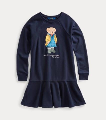 Raincoat Bear Terry Dress