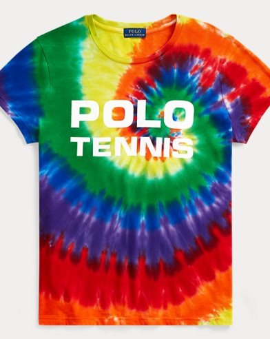 US Open Tie-Dyed Cotton Tee