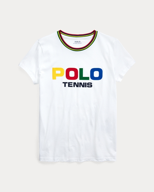 Polo RalphLauren US Open Cotton Graphic Tee