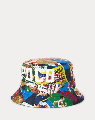 Reversible Shield Bucket Hat
