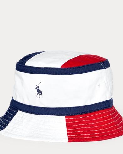 Color-Blocked Bucket Hat