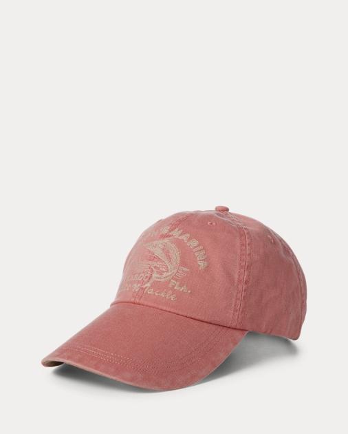 e9c2552b Polo Ralph Lauren Marina Cotton Twill Cap 1
