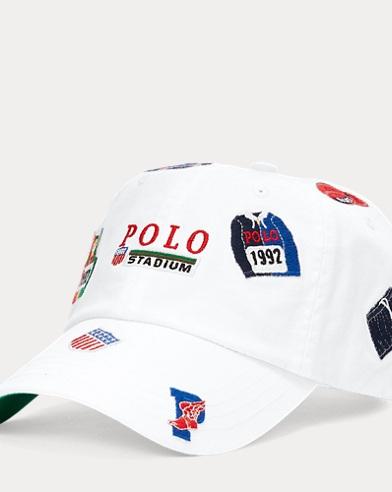 1b316c18bb0 Stadium Patch Chino Cap. Polo Ralph Lauren. Stadium Patch Chino Cap.  $69.50. Save to your Wishlist
