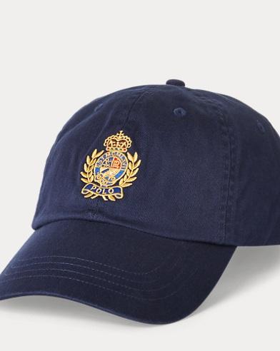 Crest Chino Baseball Cap