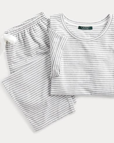 Striped Capri Sleep Set