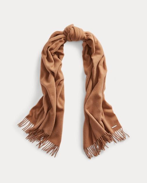 Wool Oblong Scarf by Ralph Lauren
