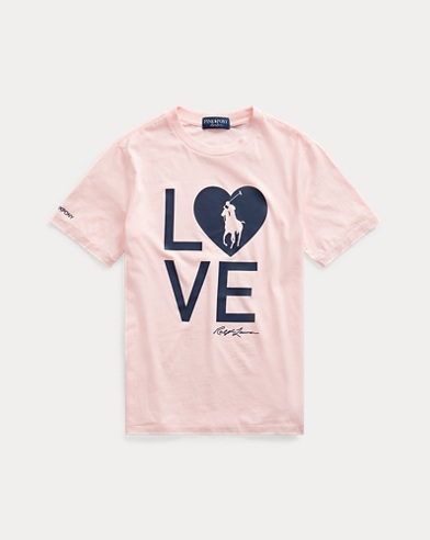 T-shirt Live Love Pink Pony