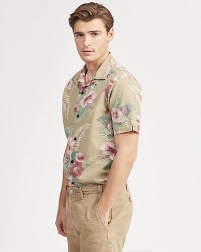 Classic Fit Hawaiian Shirt