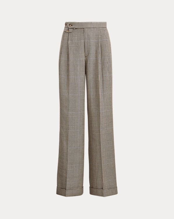 Cotton-Blend Trouser