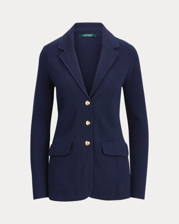 Combed Cotton Blazer