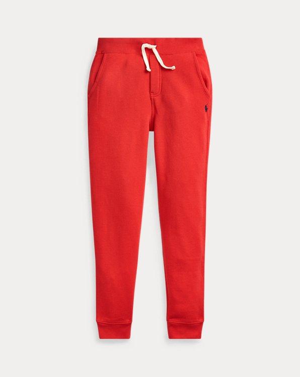 폴로 랄프로렌 보이즈 조거 팬츠 Polo Ralph Lauren Cotton-Blend-Fleece Jogger,RL 2000 Red