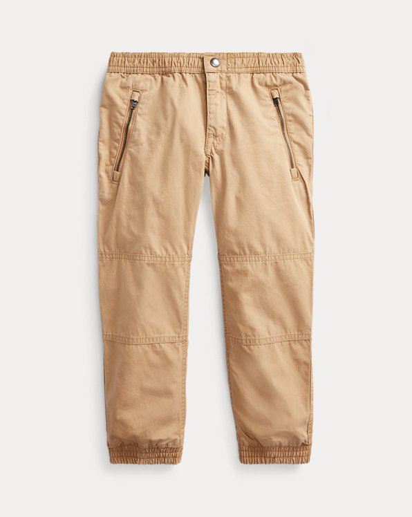 Cotton Poplin Jogger Pant
