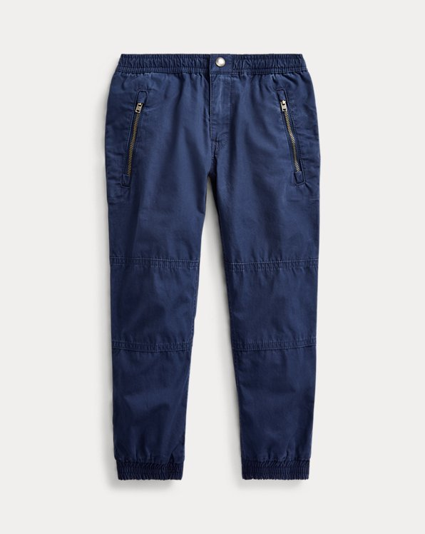 폴로 랄프로렌 남아용 조거 팬츠 Polo Ralph Lauren Cotton Poplin Jogger Pant,Newport Navy
