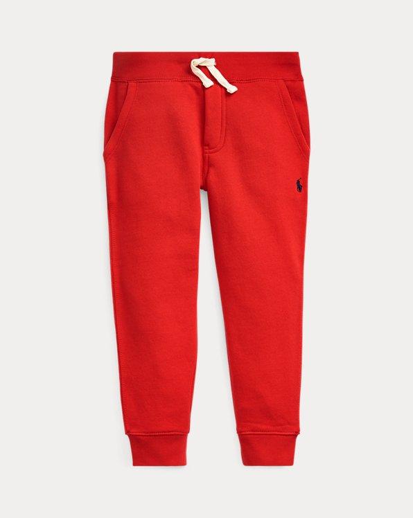 폴로 랄프로렌 남아용 조거 팬츠 Polo Ralph Lauren Cotton-Blend-Fleece Jogger,RL 2000 Red