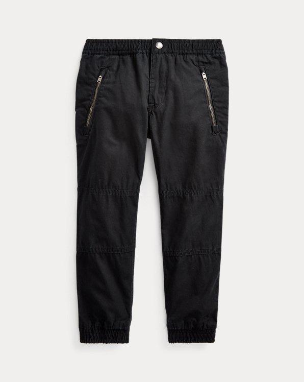 폴로 랄프로렌 남아용 조거 팬츠 Polo Ralph Lauren Cotton Poplin Jogger Pant,Polo Black