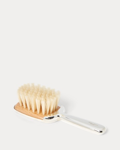 Sterling Silver Baby Brush