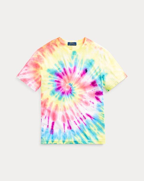 Camiseta de punto jerseytie-dye