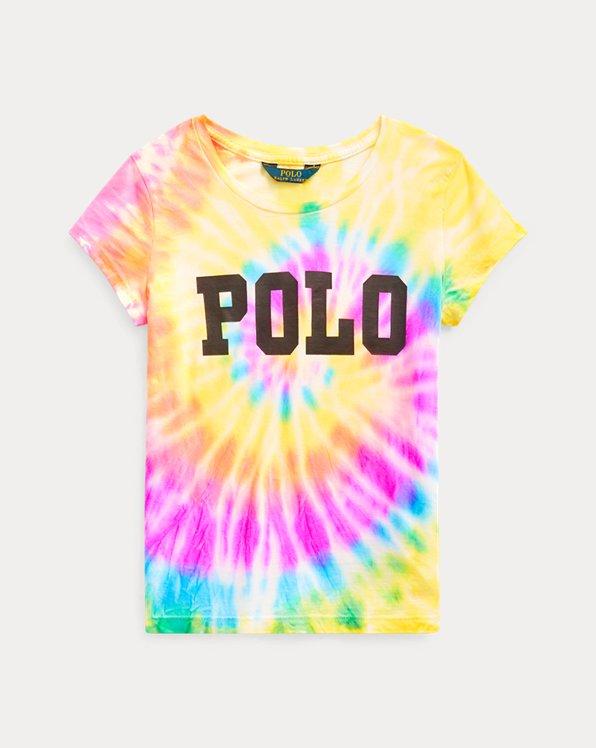 Maglietta tie-dye in jersey di cotone