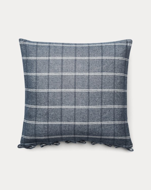 Eva Windowpane Throw Pillow