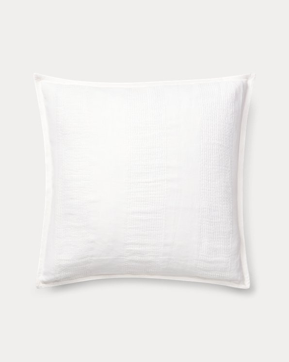 Eva Open-Weave Throw Pillow